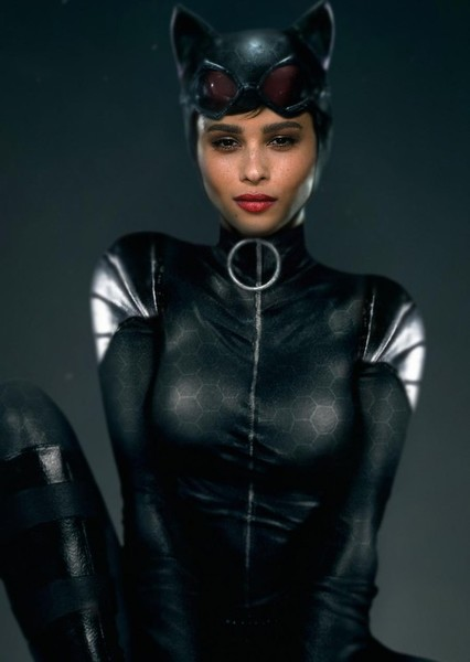 "Zoë Kravitz as Catwoman in ""The Batman"" fancast"