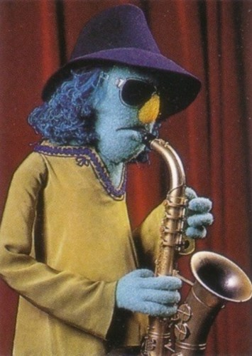 Zoot as Neo in Muppets Go to the Movies