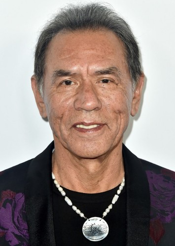 Wes Studi as Chingachgook in The Last of the Mohicans