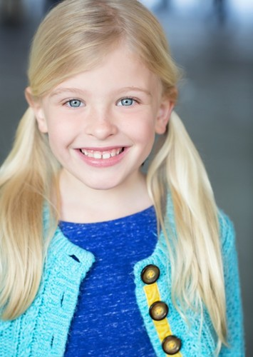 Sedona Fuller as Karla Sofen (Child) in Marvel Cinematic Universe -- Legends One