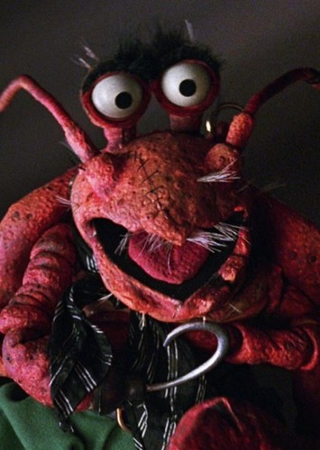 Polly Lobster as Admiral Ackbar in The Muppets in Star Wars