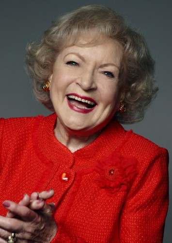 Betty White as Mrs Adolphine in Benny Breakiron