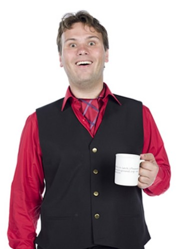 John Finnemore as Fiddlesticks in Enchanted Forest Chronicles