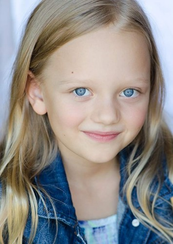 Ivy George as Young Natasha (11 years old) in Black Widow
