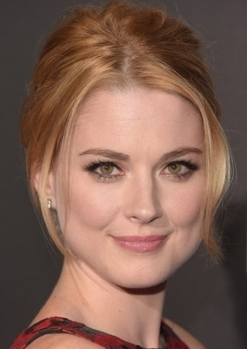 Alexandra Breckenridge as Hawkgirl in The Perfect Justice League Movie