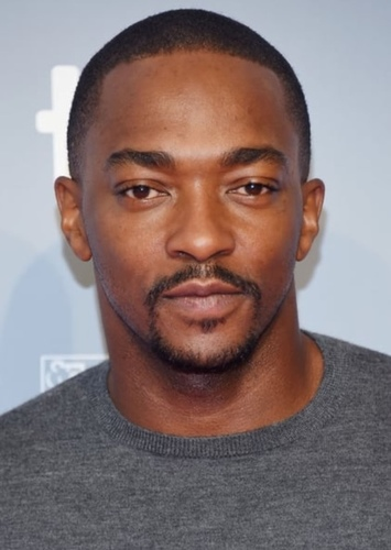 Anthony Mackie as Lucas Sinclair in Stranger Things (30 Years Later)