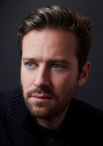 Armie Hammer as Two Face in Batman: No Man's Land