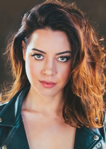 Aubrey Plaza as Medieval Times Waitress in The Cable Guy