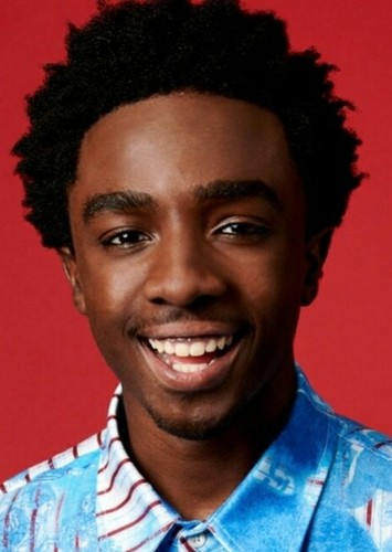 Caleb McLaughlin as Grover underwood in Percy Jackson and the lightning thief