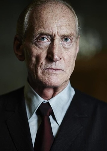 Charles Dance as The Fox in Till We Have Faces