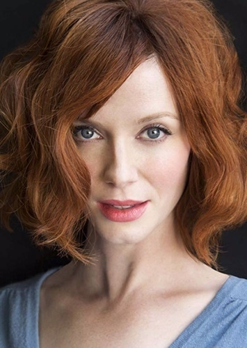 Christina Hendricks as PowerGirl in Superfamily and Villains