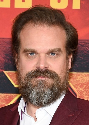 David Harbour as Poseidon in Percy Jackson and the lightning thief