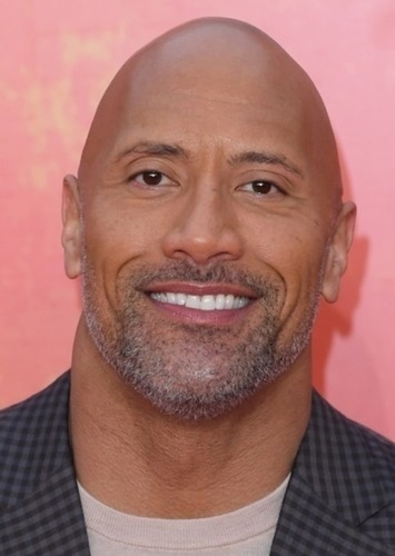 Dwayne Johnson as AllMight in My Hero Acadamia Live Action Movie