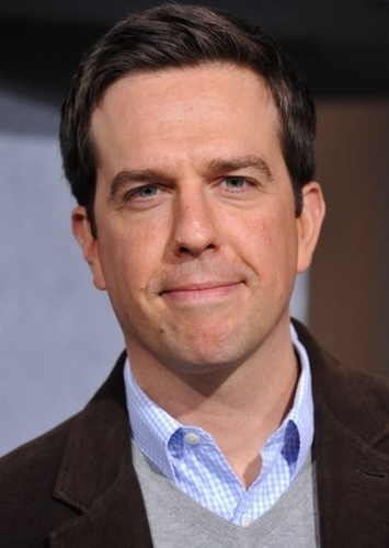 Ed Helms as Stuart the Shrimp in Louis the Crab