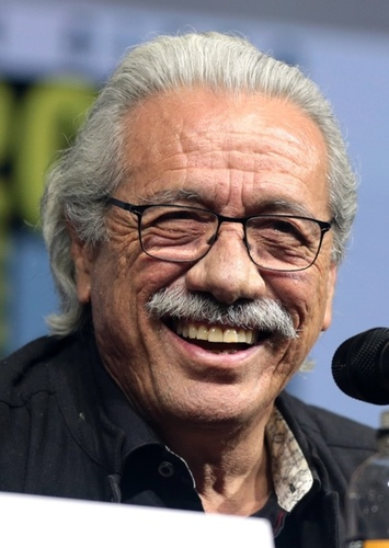 Edward James Olmos as Jaguar in One Earth