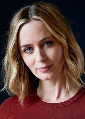 Emily Blunt as Fizzlepop Berrytwist/Tempest Shadow (voice) in Journey into Space:  A My Little Pony Movie