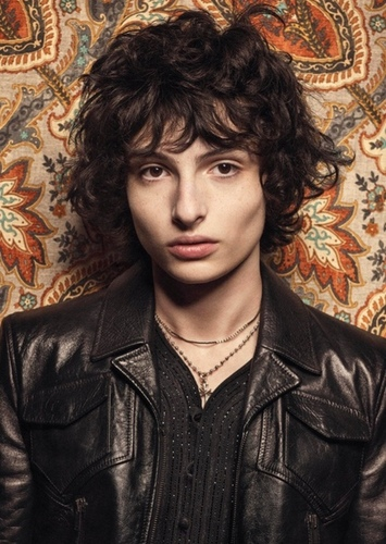 Finn Wolfhard as Percy jackson in Percy Jackson and the lightning thief