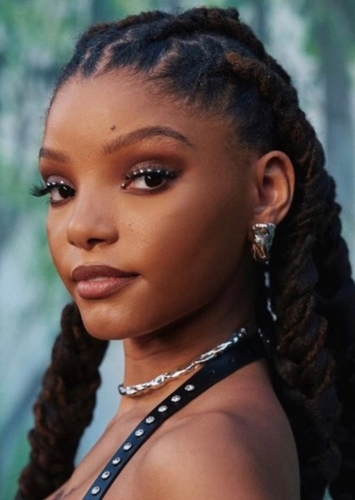 Halle Bailey as Aisha in Winx Club