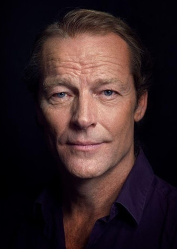 Iain Glen as Malcolm Merlyn in Green Arrow (Smallville)