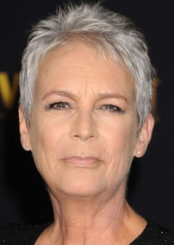 Jamie Lee Curtis as May Parker in Spider-Man: Into the Spider-Verse (Live Action)