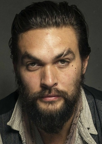 Jason Momoa as Argus in Percy Jackson and the lightning thief