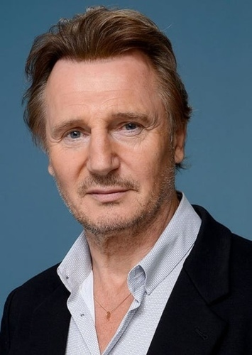 Liam Neeson as Raiden in Mortal kombat armageddon