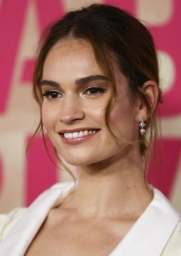Lily James as Invisible Woman in Marvel Universe