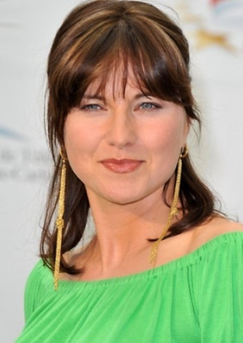 Lucy Lawless as Diana of Themyscira in Burtonverse