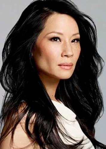 Lucy Liu as Avatar Kyoshi in Avatar: The Last Airbender