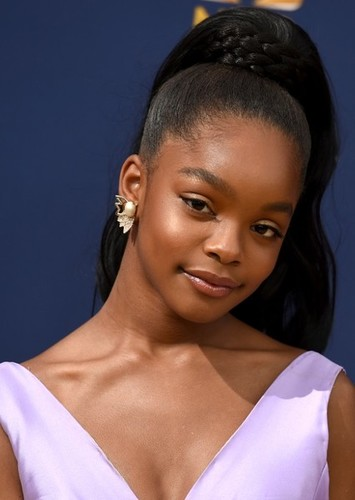 Marsai Martin as Rebecca in The Dating Game