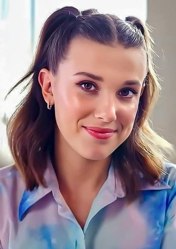 Millie Bobby Brown as Annabeth chase in Percy Jackson and the lightning thief