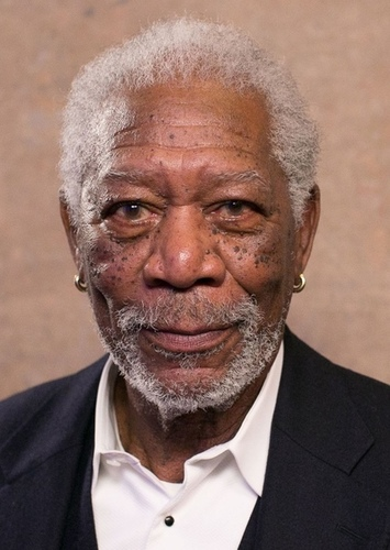 Morgan Freeman as God in Ultimate Cinematic Universe