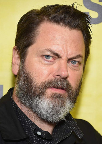 Nick Offerman as Harvey Bullock in Batman and his Supporting Characters