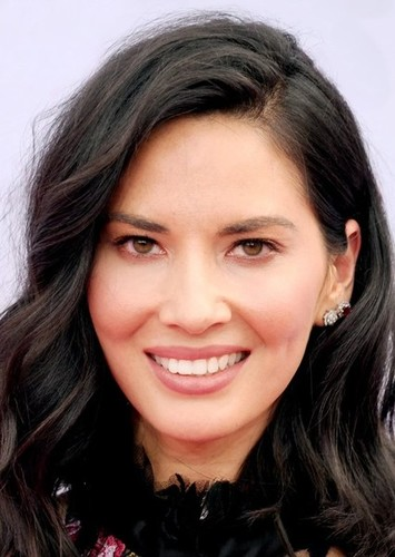Olivia Munn as Psylocke in The LEGO Deadpool Movie
