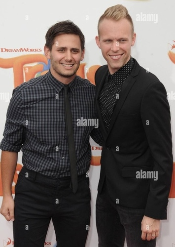 Pasek and Paul as Composer in Rent
