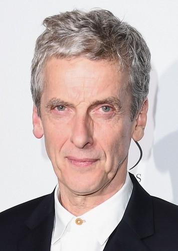 Peter Capaldi as The Doctor in Batman v Everyone: Dawn of Ultimate Destiny