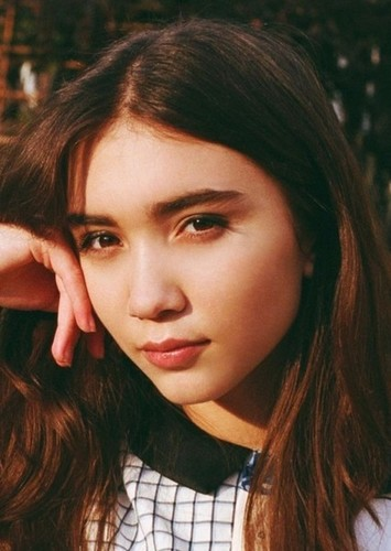 Rowan Blanchard as Julie Power in Power Pack TV Show