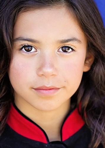 Scarlett Estevez as Lily (during childhood years) in The Adventures of Thomas and the Magic Railraod