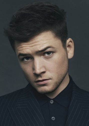 Taron Egerton as Thomas in Thomas and Friends: The Mystery of the Golden Solar Birch