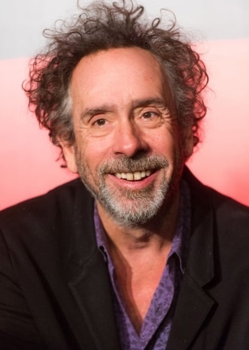 Tim Burton as Director in Haunting - Starring Polterguy
