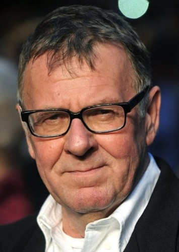 Tom Wilkinson as Robert Vaughn in Steve McQueen Biopic