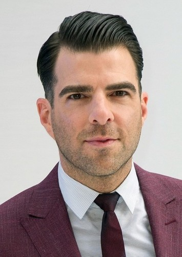 Zachary Quinto as Lex Luthor in DC Villains