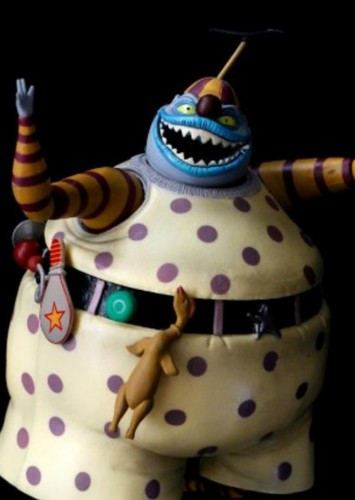 Nightmare Before Christmas Clown With A Tear Away Face.Fan Casting Dee Bradley Baker As Clown With The Tear Away
