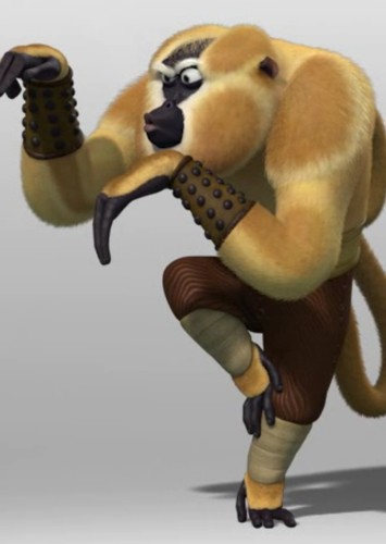 Monkey in Kung Fu Panda