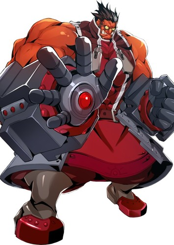 Iron Tager in Blazblue