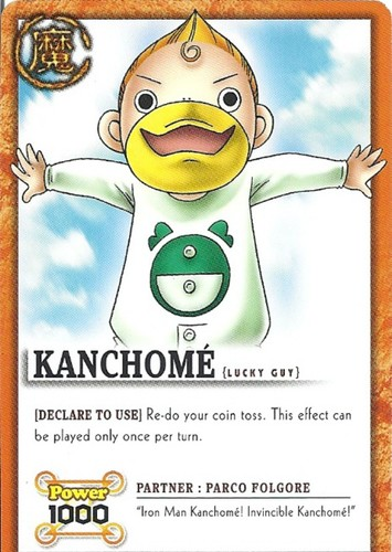 Kanchomé in Zatch Bell!