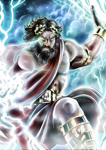 zeus role in the trojan war