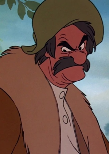 Amos Slade in The Fox and the Hound