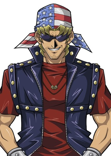 Bandit Keith in Yu-Gi-Oh: Duelist Kingdom