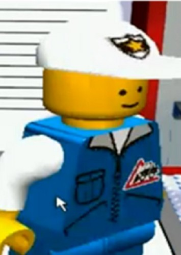 Bill Ding in Lego Island 4: The Brick Paradise Returns